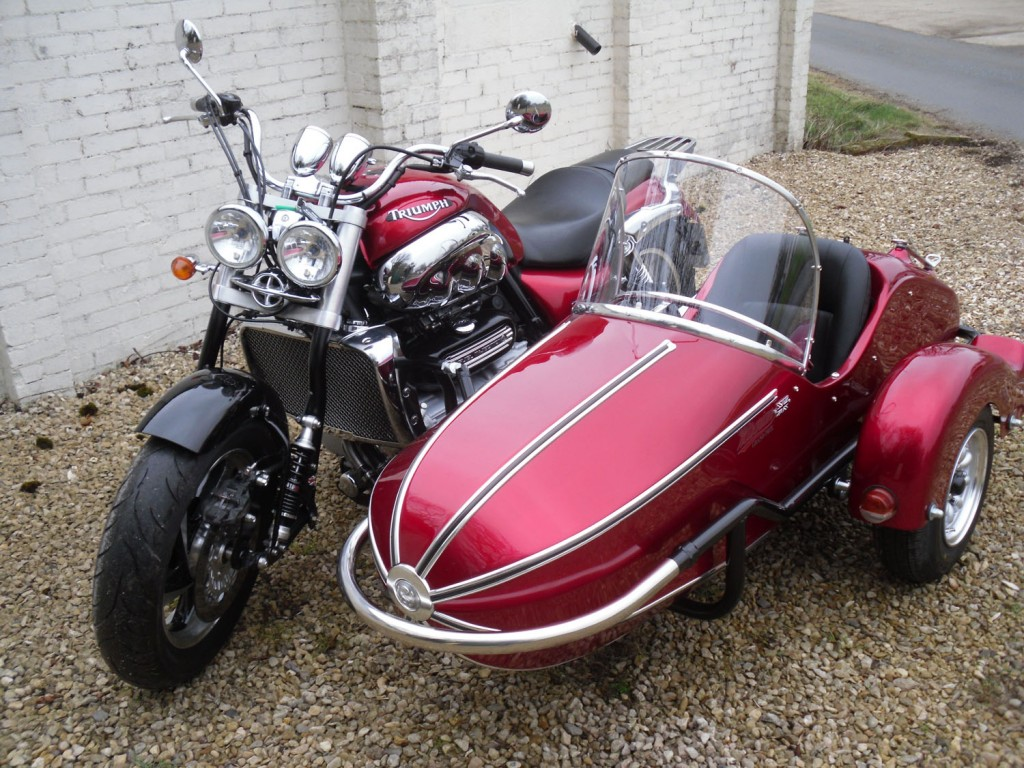 Triumph Rocket III + Grand Prix DL