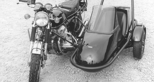 CB750/4 + Squire sidecar