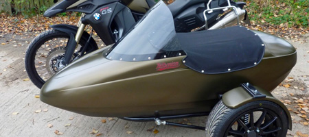 Flight Motorbike Sidecar