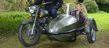 GP Manx Motorbike Sidecar