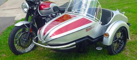 GP700 Motorbike Sidecar