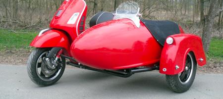 Zanzara Motorbike Sidecar