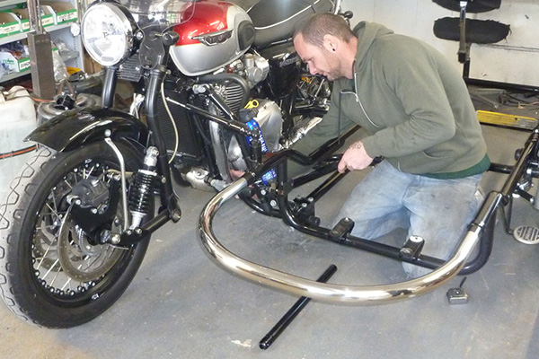 Sidecar Fitting - Watsonian Sidecars